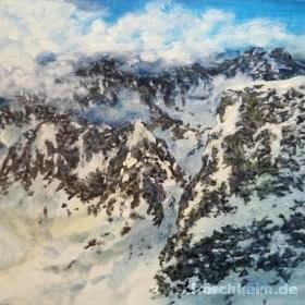Kleines Alpenstück Nr. 2