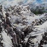 Kleines Alpenstück Nr. 3x