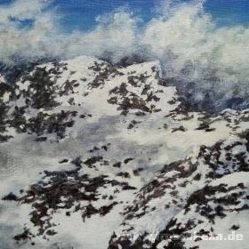 Kleines Alpenstück Nr. 4